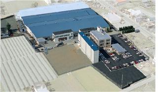 コロナ工業 航空写真
